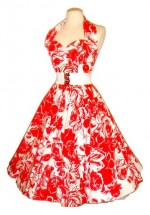 Oasis Dress Red