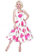 Victory Rose Dress Cerise