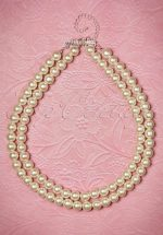 50s Annabella Double Pearl Necklace
