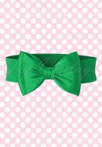 50s Wow to the Bow Belt in Green