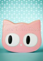 60s Addis The Big Eyed Cat Bag in Pink