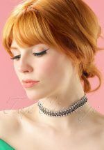 40s Diamond Crystal Choker
