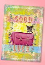 50s Good Luck Greeting Card