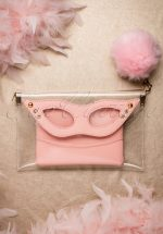 TopVintage Exclusive ~ 50s Mansfield Masquerade Clutch in Pink
