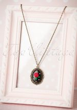 40s My Sweet Rose Necklace
