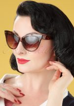 50s So Retro Great Cat Sunglasses in Turtoise