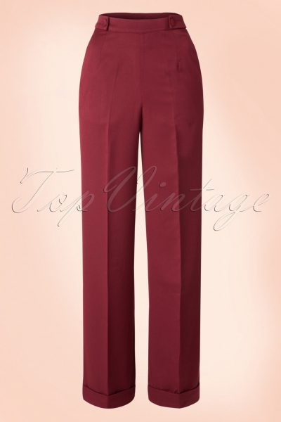40s Party On Classy Trousers in Bordeaux