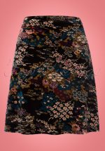 60s Tao Borderskirt in Black