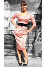 Mon Cheri Dress, Mauve