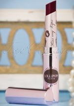 Kiss My Lips Glossy Lipstick in French Kiss Bordeaux
