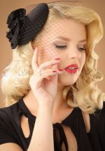 50s Mae Hat in Black