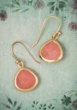 60s Rookie Rush Earrings in Pink