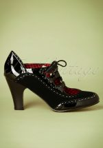 40s Save The Last Dance Pumps in Black